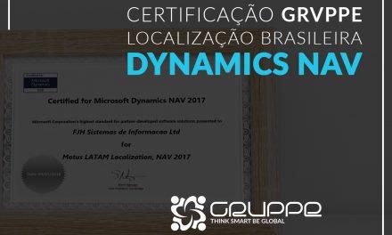 Certificação da Localização Brasileira Microsoft Dynamics NAV