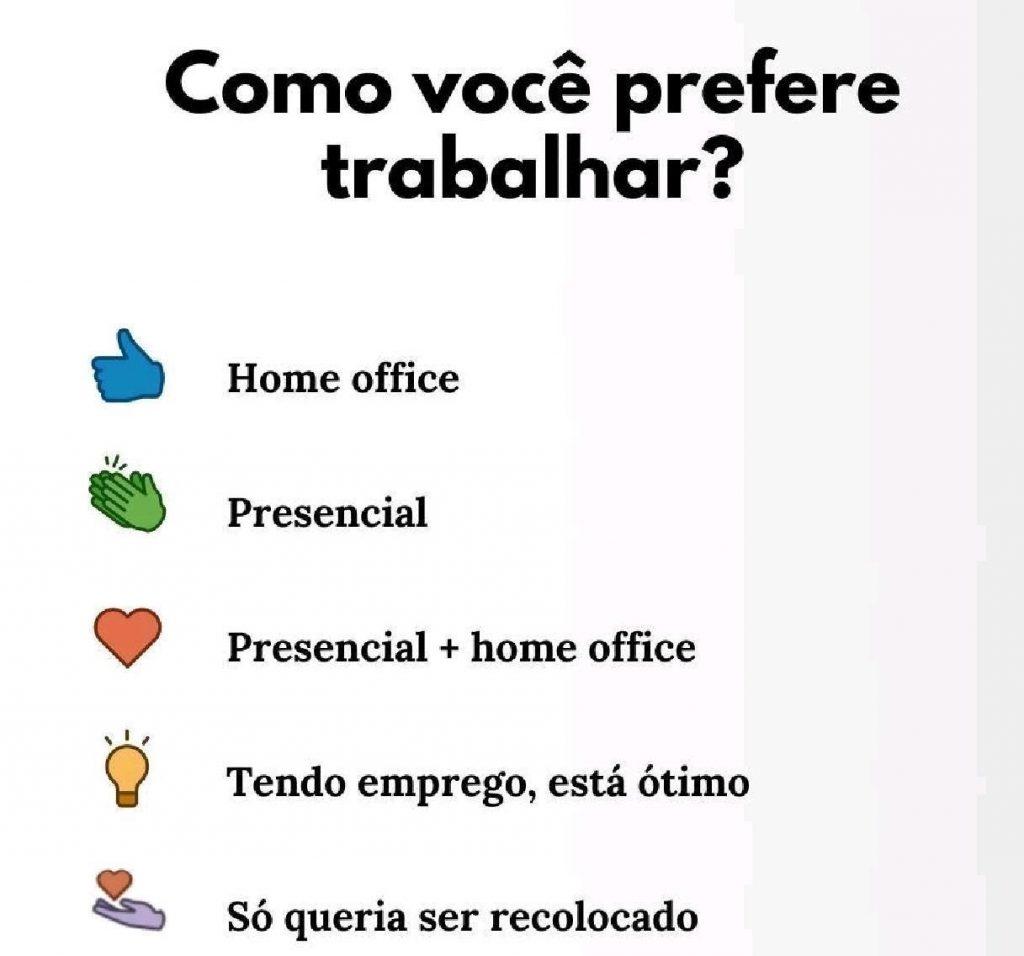 Pesquisa Home Office LinkedIn