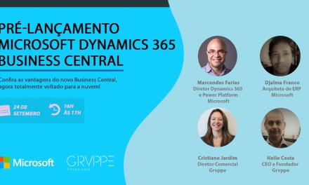 Live 24/09 – Pré-Lançamento Microsoft Dynamics 365 Business Central