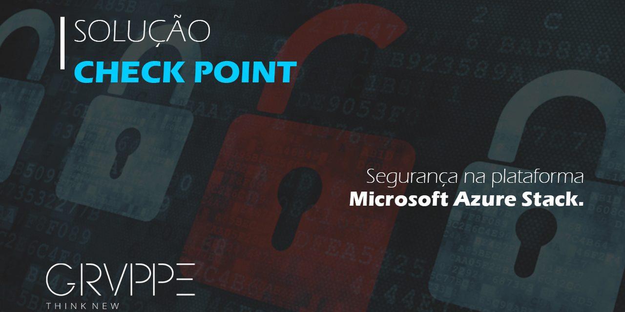 Check Point: Segurança na Nuvem Azure da Microsoft